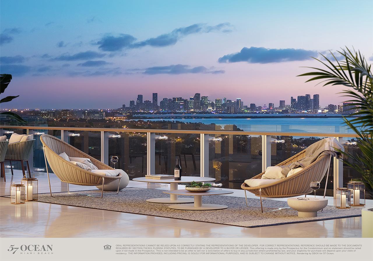 57 Ocean Miami Beach  Renderings Video  Floor Plans of