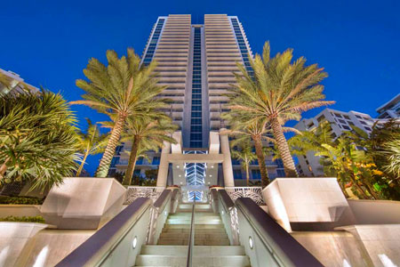 Ocean Palms Condo For Sale And Rent In Hollywood Beach