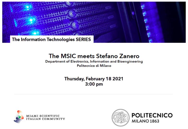 Miami Scientific Italian Community_The Information Technologies SERIES Prof. Zanero.png