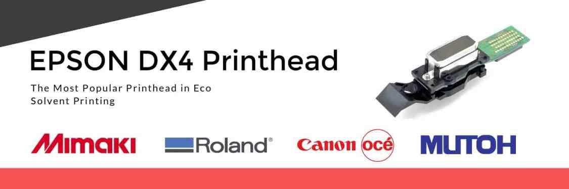 Epson Dx4 Printhead Eco Solvent