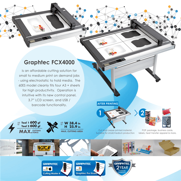 Graphtec FCX4000 Flatbed Cutter