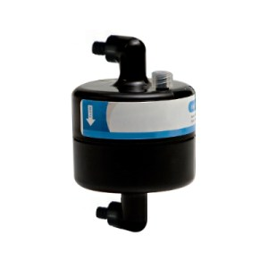 A-Starjet MSS Capsule Filter Black 5 micron Luer Elbow-8089-0500-5-QQ-C