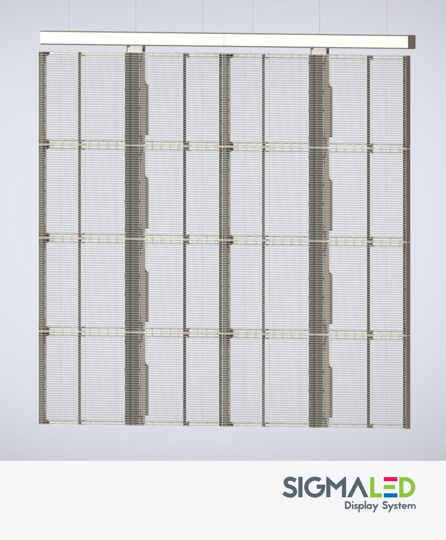 LED Sign - MLED MW Series Transparent LED Screen