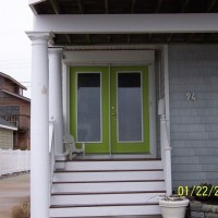 Door Replacement - Rotted, broken - Before