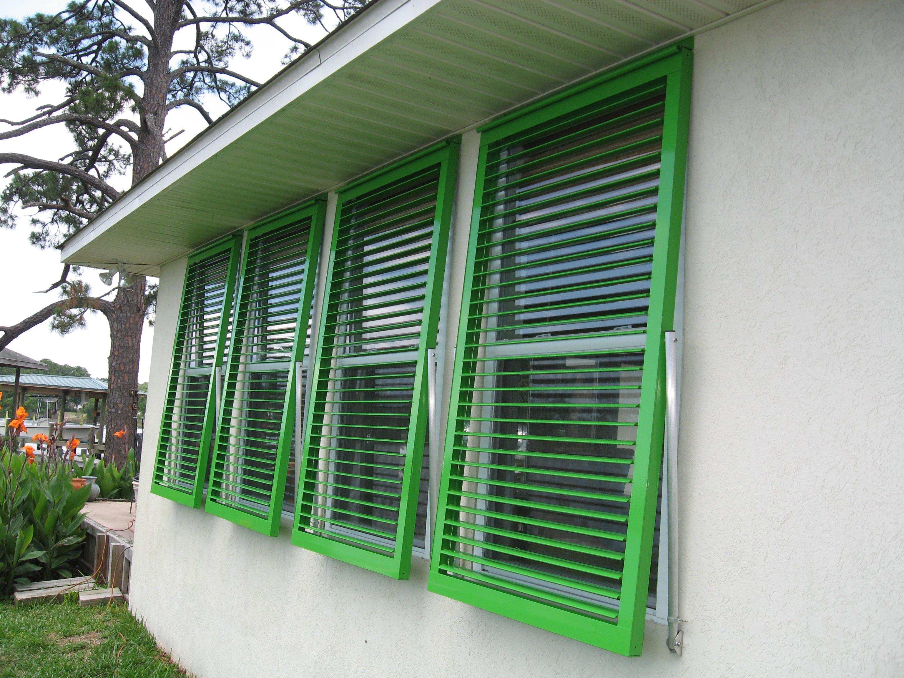 Exterior Bahama Shutters Home Depot