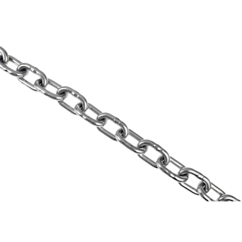 Chain 10mm Medium Link AISI 316 Per Metre