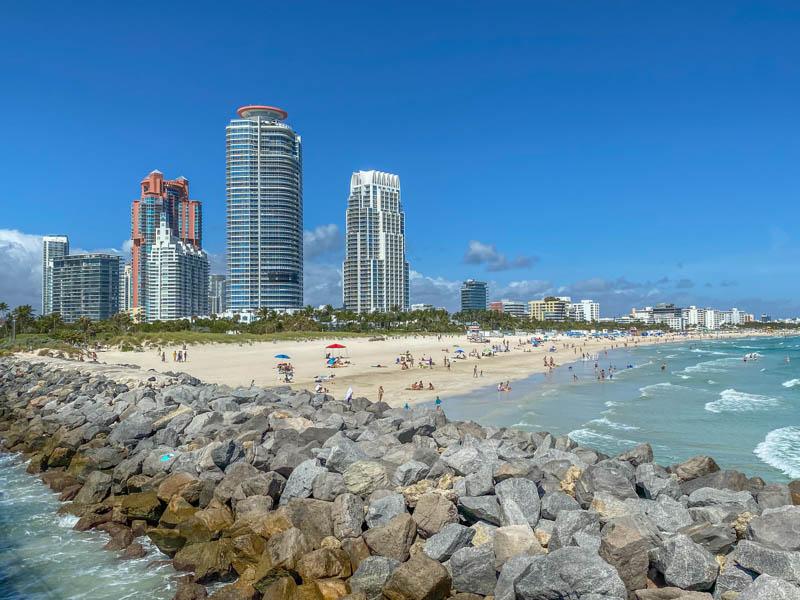 South Beach Miami strand