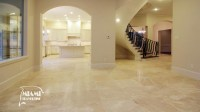 TRAVERTINE TILE FILLED HONED 24X24 IVORY CLASSIC  Miami ...