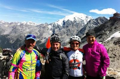 14 Italia 2013_Tiziano, Massimo, Barbara e Milena, Passo dello Stelvio