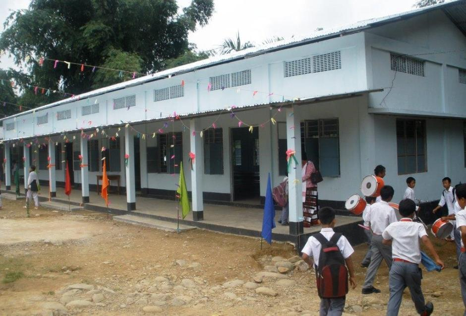 New Hall in St. George School, Deomali