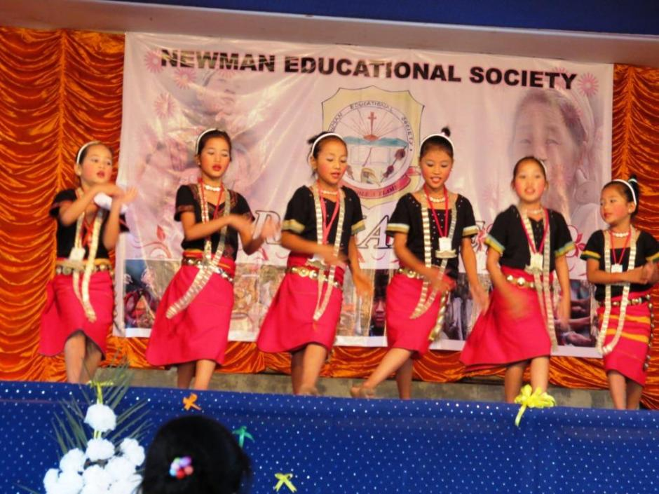 An Adi Tribal Dance by the Students of St. Patrick School, Dambuk
