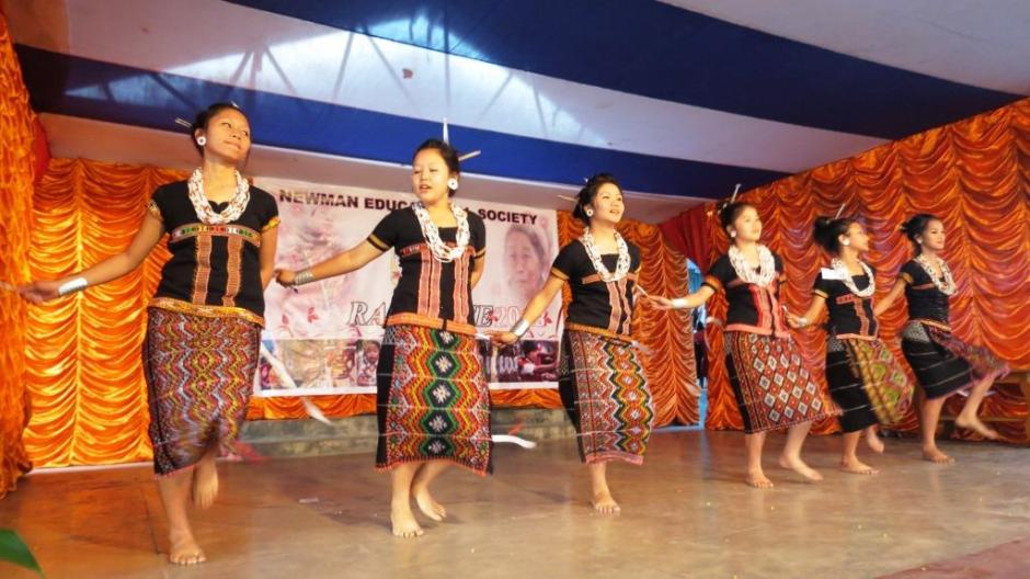 Mishmi Tribal Dance by the students of  Divine Word School, Roing