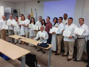 Docentes y estudiantes de la Escuela de Estudios Teológicos, certificados por el SENA, Colombia