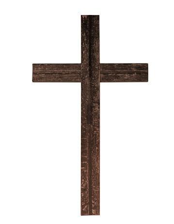 Cristo Murió en una «crux immisa»
