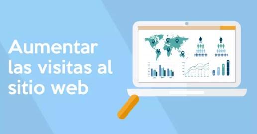 aumentar visitas web