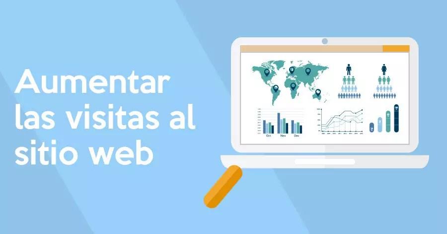 Estrategias que funcionan para aumentar las visitas de tu web
