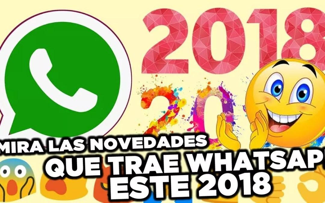 novedades whatsapp 2018