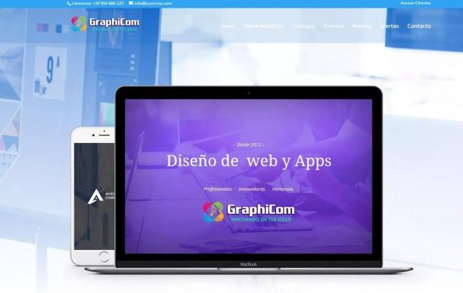 ejemplo web corporativa