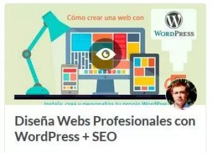 curso diseño web wordpress y seo