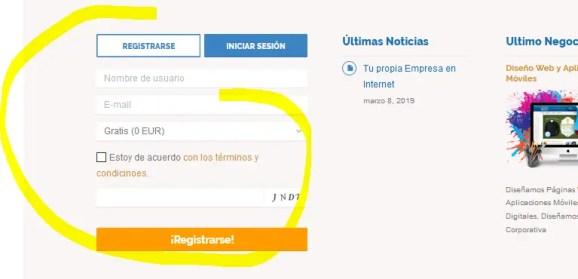 directorio comercial y turistico registro