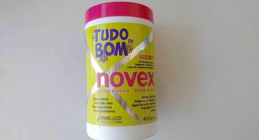 #Review Máscara Tudo de Bom Novex