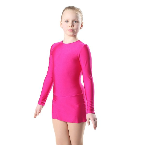 Leotard Siiri With Standard Skirt Zipper Long Sleeve