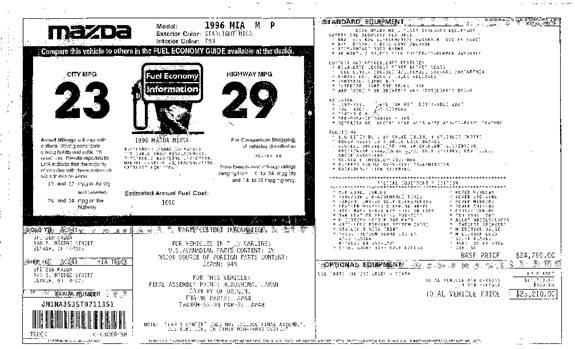 Mazda MX-5 Miata M Edition Field Guide
