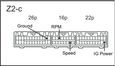 15847d1268773102 nb speedometer wiring rsm 2?resize\=371%2C214\&ssl\=1 rsm wiring diagram pinout diagrams \u2022 wiring diagrams j squared co 50elpto wire harness at crackthecode.co