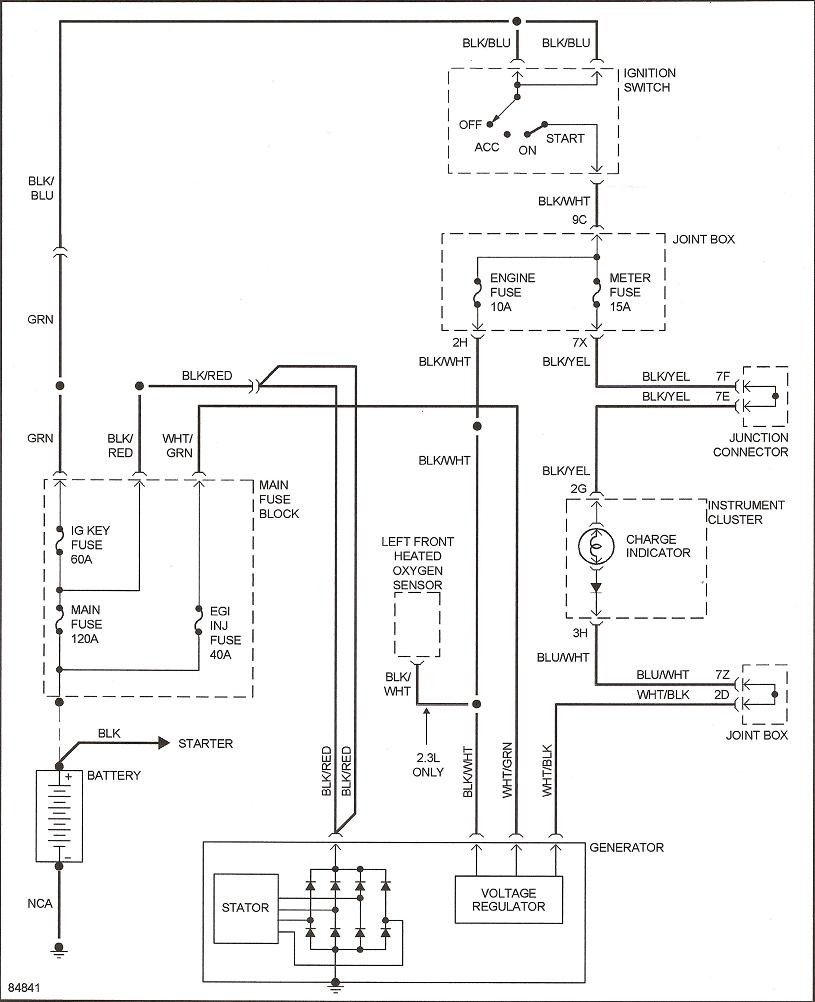 [DIAGRAM] 1997 Ford Probe Wiring Diagram Schematic FULL
