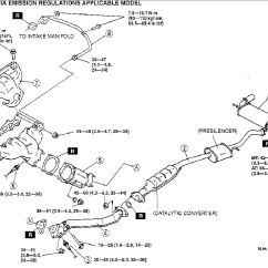 2001 Ford Taurus Exhaust System Diagram Push Button Switch Wiring 2000 Mazda Mpv Oxygen Sensor Location Cabin