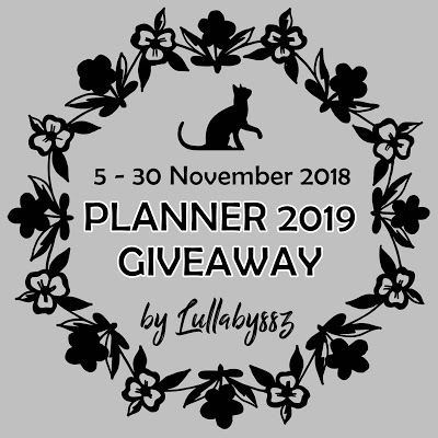 Planner 2019 Giveaway