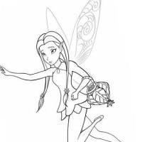 Dibujos de hadas y duendes: para colorear!