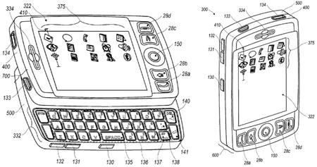 Nueva patente: BlackBerry con pantalla táctil, teclado