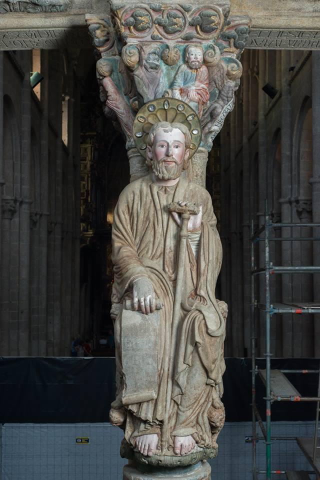 El Prtico de la Gloria de la Catedral de Santiago
