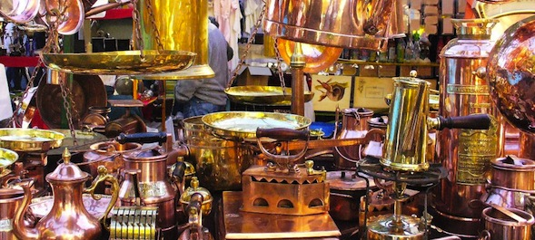 Compras em Buenos Aires 2017 - Feira de antiguidades de San Telmo / Feria de antiguedades de San Telmo