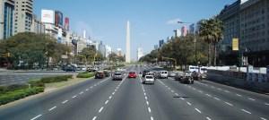 Av. 9 de Julio y Obelisco, Buenos Aires