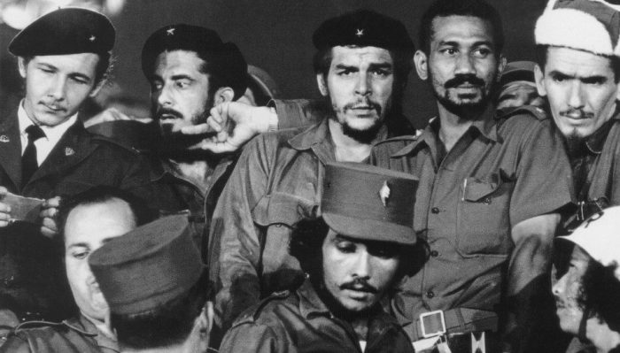 Ernesto Guevara Che Guevara, Raul Castro, Antonio Nunez Jimenez, Juan Almeida, Ramiro Valdes - 1959
