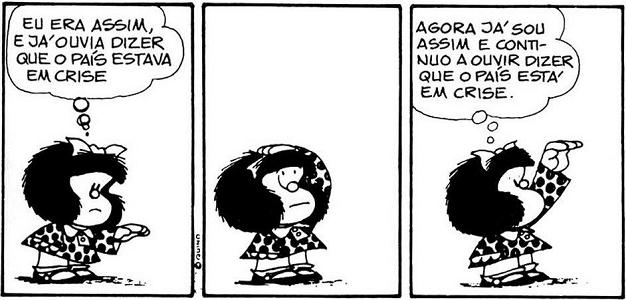 Mafalda - Crise (Português)