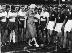 Eva Peron Kick Off
