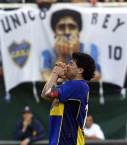 Diego Maradona Despedida Boca 2001