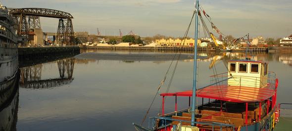 Riachuelo La Boca Buenos Aires