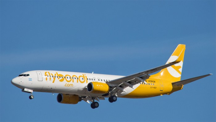 Flybondi Argentina low cost