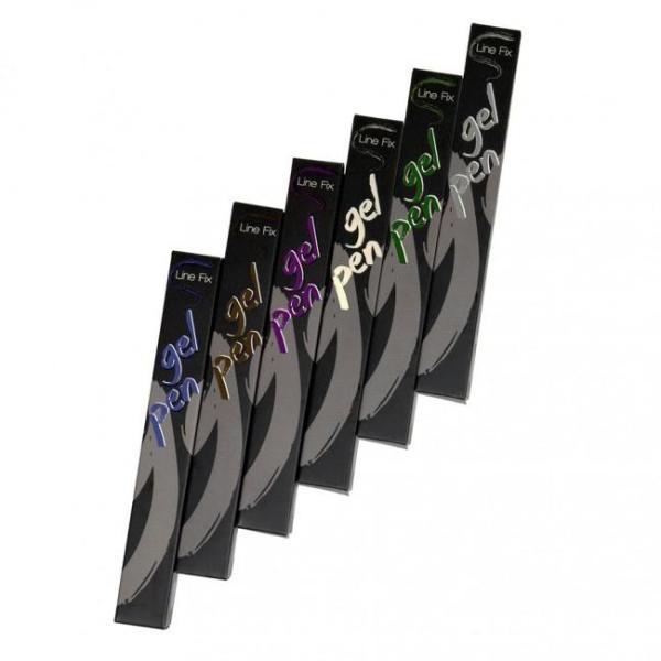 Gel Eyeliner Pen 6 Pack Combo