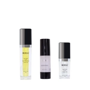 Age Defying Eye Gel - Skin Repair Serum - Vita-C Exfoliating Peeling Gel - Promo Pack