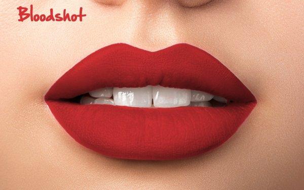 Matte Liquid Lipstick - Blood Shot