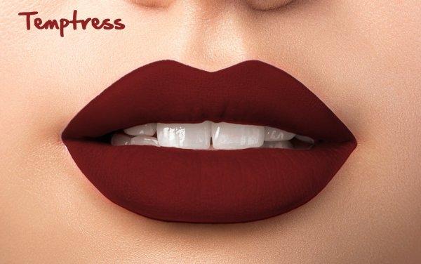 Matte Liquid Lipstick - Temptress