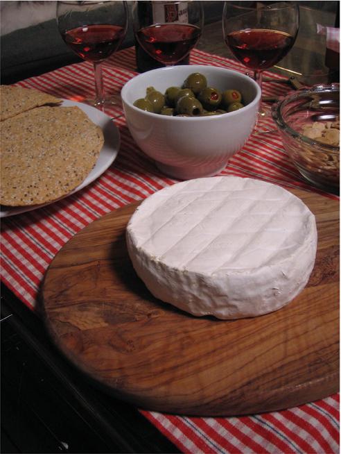 Mountain fridge aged cheese
