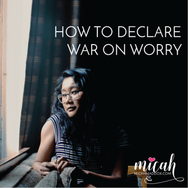 Worry: It's a Real Thing