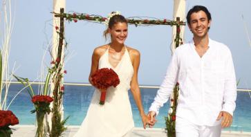 Boda en el Hotel Sandos Cancun Luxury Resort