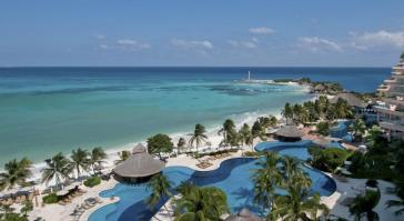 Hermosa vista hotel Grand Fiesta Americana Coral Beach Cancun